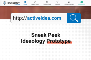 Ideaology launching Prototype Active Idea – A Revolutionary Platform to Create a Diverse Community
