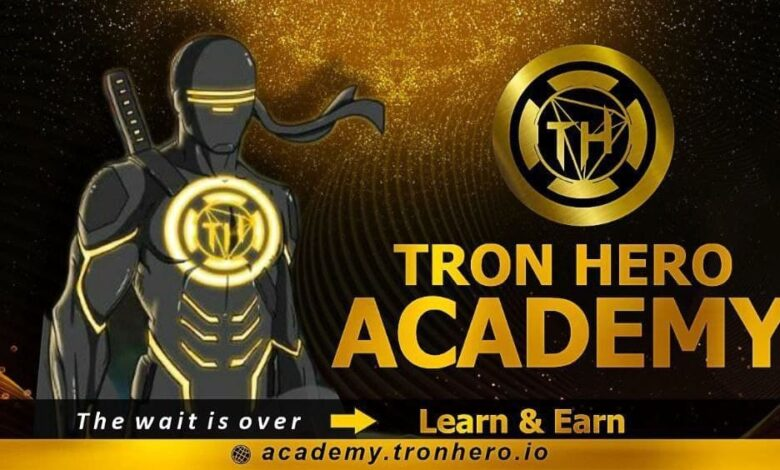 TronHero Launched its Academy on 21st January