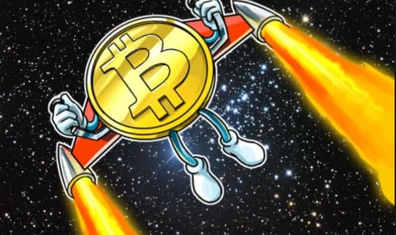 Bitcoin Hits $55K, Market Cap Crosses $1T First Time Ever