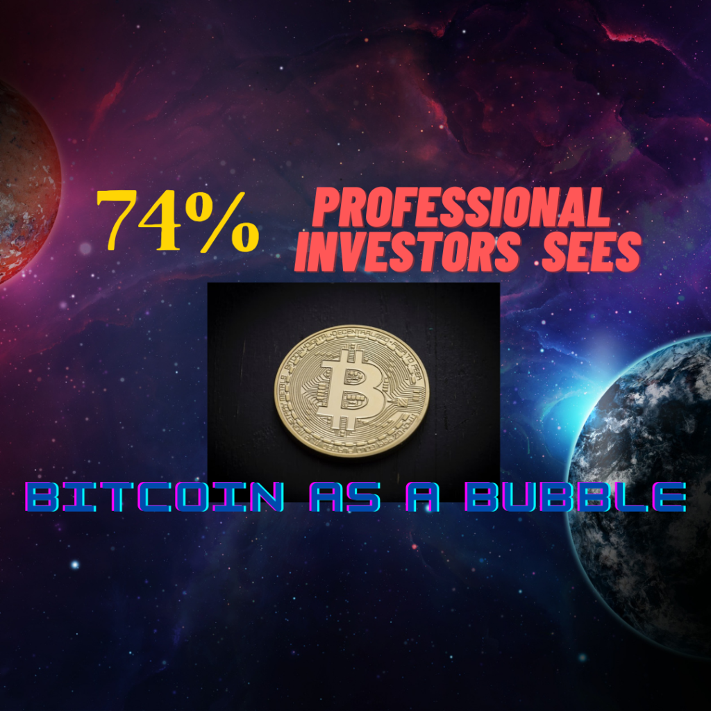 Bitcoin is a Bubble Says 74% Bank of America Survey Respondents