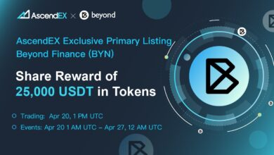 Beyond Finance Listing On Ascendex