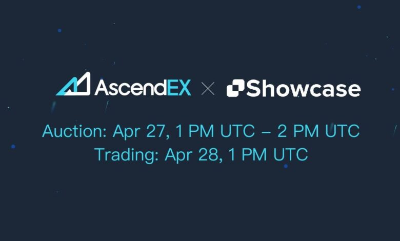 Showcase Listing on AscendEX