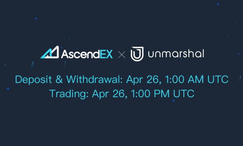 Unmarshal listing on AscendEX