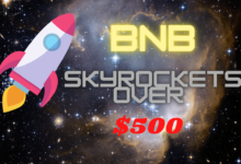 Binance Coin (BNB) Skyrockets Over $500 Reaching New ATH
