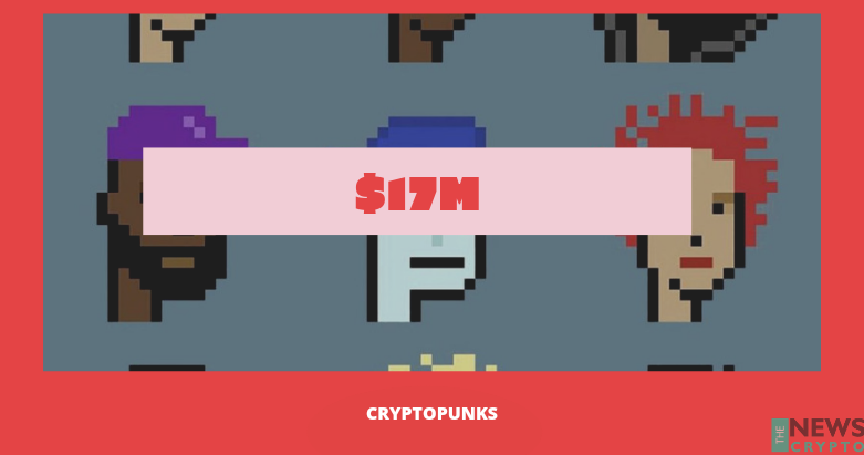 9 Rare NFT's of CryptoPunk Sold at Christie's Auction House