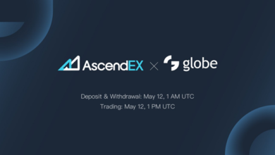 Globe Listing on AscendEX