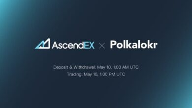 PolkaLokr Listing on AscendEX