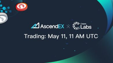 CasperLabs Listing on AscendEX
