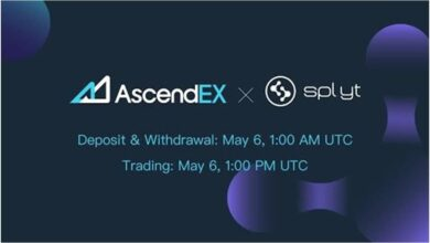 SplytCore Listing on AscendEX