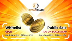 Scaleswap Announces Whitelist Opening and IDO Launch Date