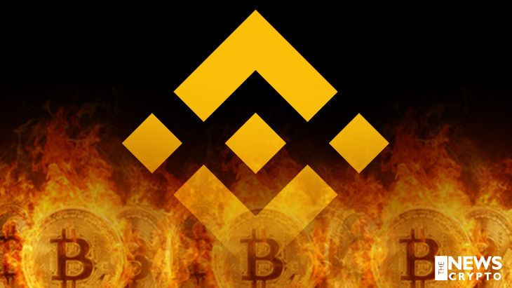 Binance Engages in Burning Over 1.2 Million BNB Tokens