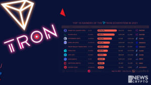 Top 10 Crypto Gainers of TRON Ecosystem 2021