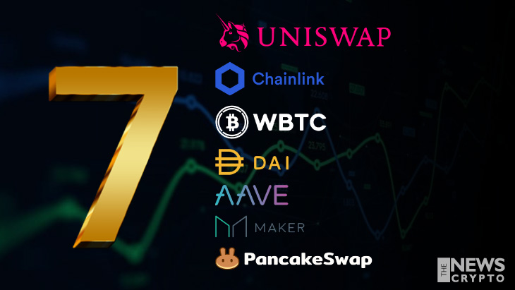 Top 7 DeFi Tokens of Crypto World