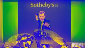 Rare Diamond Sold for $12.3m in Crypto by Sotheby's