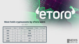 Cardano (ADA) Is the Most Held Crypto Assets by eToro Users