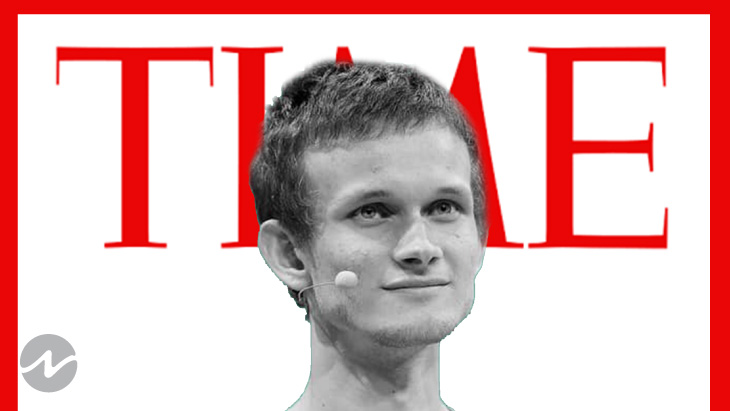 Vitalik Buterin Is in Top 100 Influencers of 2021 by Time Magazine