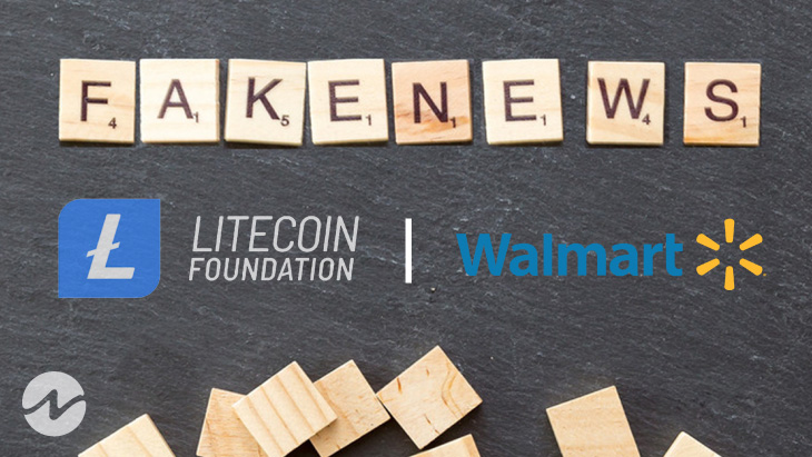 Fake Press Release About Collaboration of Walmart With Litecoin