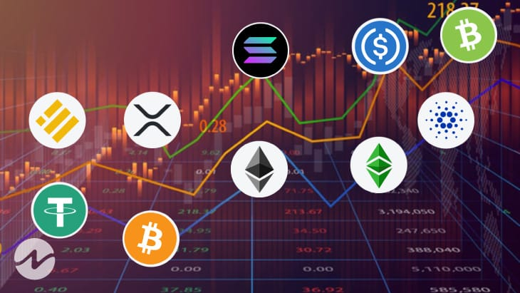 Top 9 Cryptocurrency By Volume Over the Last 24 Hours