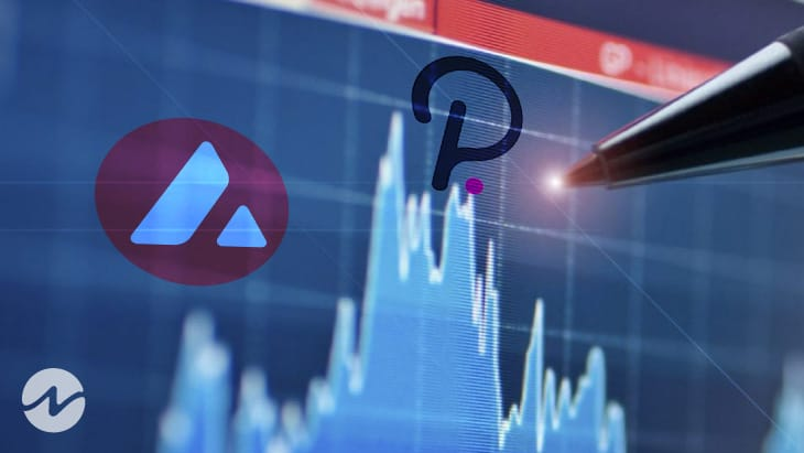 Avalanche and Polkadot Gains Even During Low Trading Volumes Globally