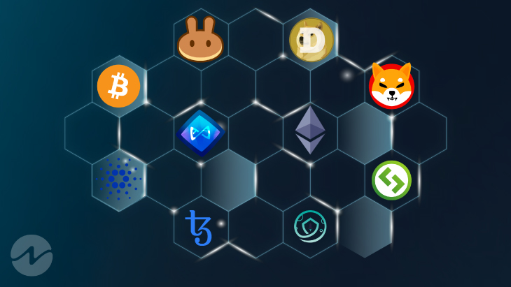 Top 10 Coins by Social Volume in Last 7 Days